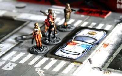 Session #36 / Black Plague, Escape by car – Table 2 – Zombicide