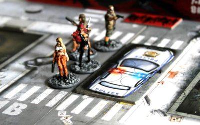 Session #36 / Black Plague, Escape by car – Table 2 – Zombicide